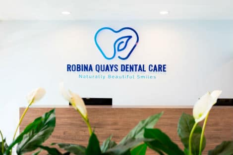 Reception area - Robina Quays Dental Care Robina